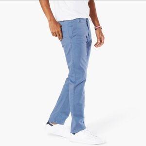 Men's Dockers Pacific Wash Slim Blue, 33x32